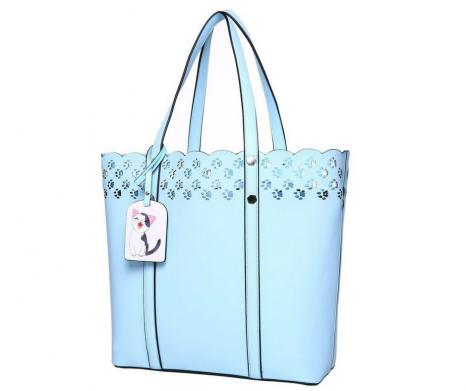 Cat Paw Lace Tote
