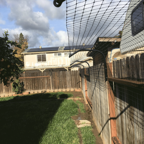 Cat Containment Kit For Existing Fences